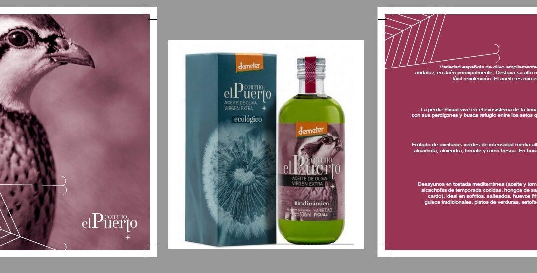 Picual Aceite de Oliva Ecológico & Biodinámico Cortijo el Puerto: AOVE con personalidad