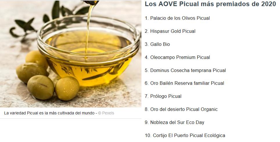 ABC_ El mejor aceite de oliva virgen extra variedad Picual del mundo es español_11_01_2021 Cortijo el Puerto