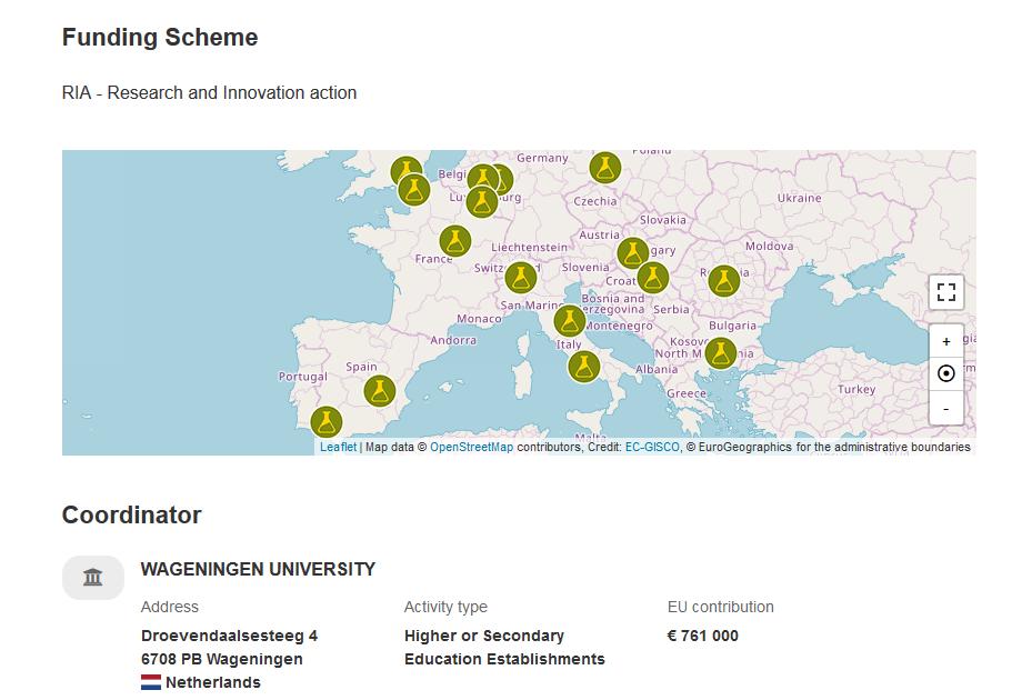 Showcase biodiversity funding scheme