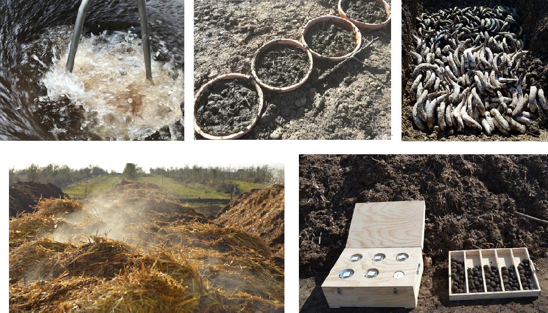 Biodynamic & organic farm cortijo el puerto spain healing the earth_preparations