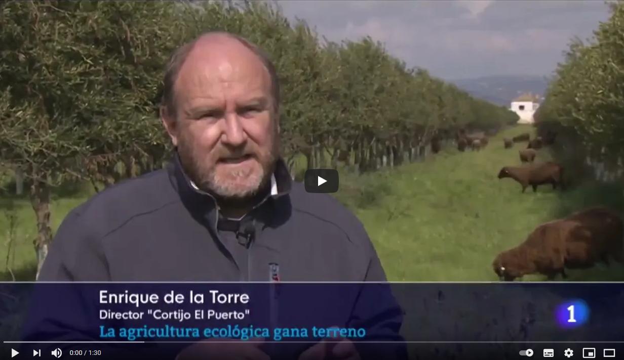 RTVA Agricultura ecologica gana terreno en Andalucia Cortijo el Puerto 03 abril 2021