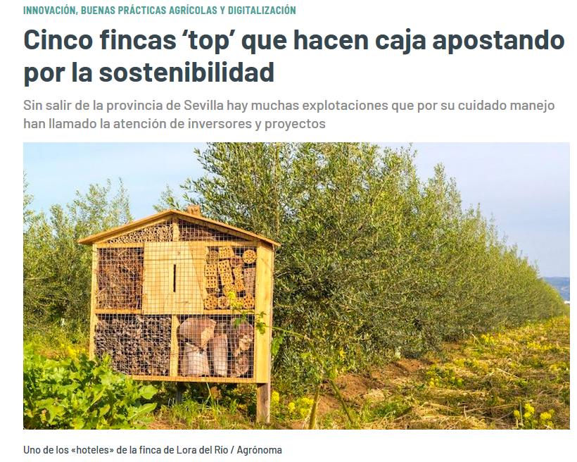ABC fincas top sostenibilidad