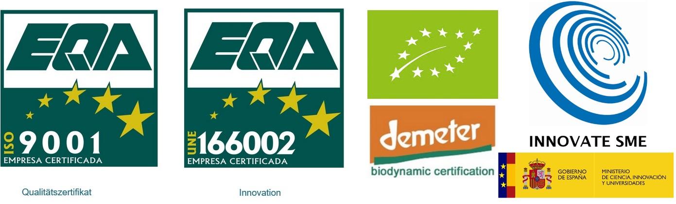 Nachhaltigkeit und Zertifizierungen bio olivenol cortijo el puerto