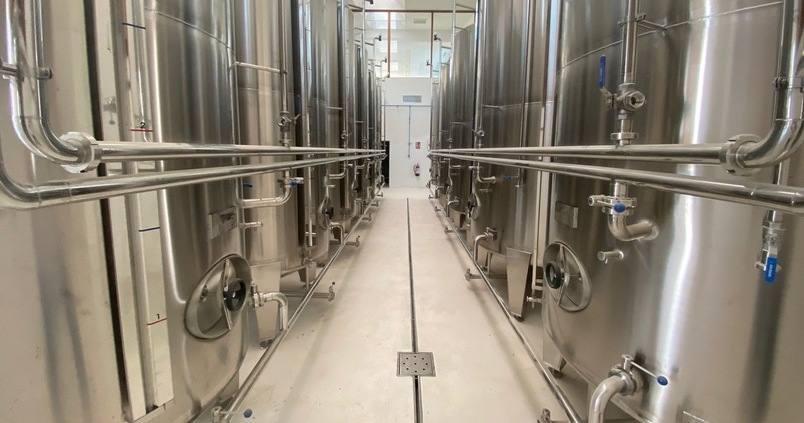 Organic bioclimatic oil cellar